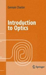Introduction to Optics - Germain Chartier