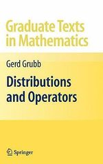 Distributions and Operators : A Cognitive Ecology for Biologists and Anglers - Gerd Grubb