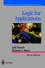 Logic for Applications - Anil Nerode