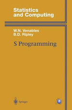 S Programming : Statistics and Computing - William N. Venables