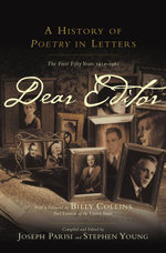 Dear Editor : A History of Poetry in Letters