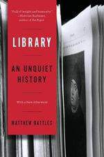 Library - Matthew Battles