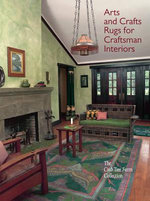 Arts and Crafts Rugs for Craftsman Interiors : The Crab Tree Farm Collection - Linda Parry