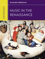 Anthology for Music in the Renaissance - Richard Freedman