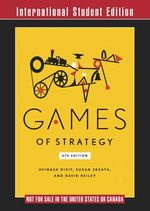Games of Strategy - Avinash K. Dixit
