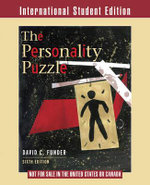 The Personality Puzzle - David C. Funder