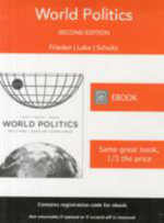 World Politics : Interests, Interactions, Institutions - Jeffry A. Frieden