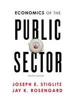 Economics of the Public Sector - Professor of Economics Joseph E Stiglitz