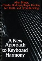 A New Approach to Keyboard Harmony - Allen Brings