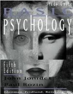 Study Guide: Study Guide to 5r.e : For Basic Psychology, - John Jonides