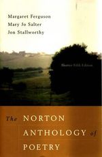 The Norton Anthology of Poetry : Shorter - Mary Jo Salter
