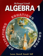 Algebra 1 : Concepts and Skills - Ron Larson