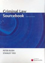 Criminal Law Sourcebook - Peter Rush