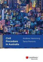 Civil Procedure in Australia - Andrew Hemming