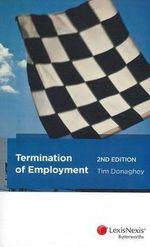 Termination of Employment - Tim Donaghey