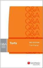 Torts : LexisNexis Questions and Answers - Tim Paine