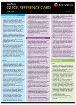 Evidence Law for Common Law States : LexisNexis Quick Reference Card: 2012 Edition - David Field