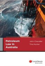 Petroleum Law in Australia - Tina Hunter