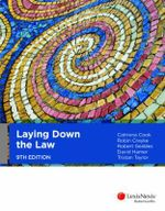 Laying Down the Law : 9th Edition - Catriona Cook