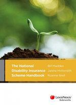 The National Disability Insurance Scheme Handbook - Bill Madden