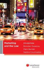 Marketing and the Law, 5th edition - B Sweeney