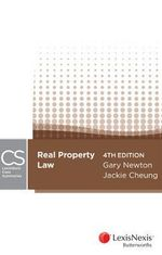 Lexisnexis Case Summaries Real Property Law : 4th Edition - G. Newton