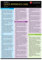 Quick Reference Card : Defamation Law - P George