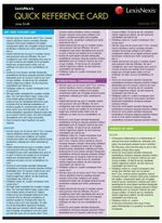 Quick Reference Card : Insolvency Law, 2nd edition - C Wright