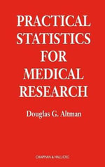 Practical Statistics for Medical Research - Douglas G. Altman