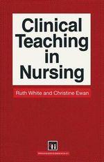 Clinical Teaching - Christine E. Ewan