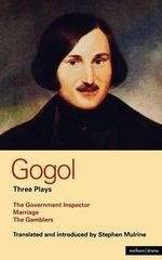 Gogol Three Plays :
