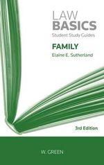 Family Law Basics - Elaine E. Sutherland