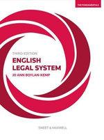 English Legal System : The Fundamentals - Jo Boylan- Kemp