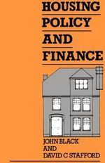 Housing Policy and Finance : A Catholic Layman's Perspective - John Black