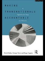Making Transnationals Accountable : A Significant Step for Britain - David Bailey