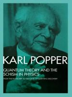 Quantum Theory and the Schism in Physics : From the