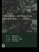 Teacher Appraisal Observed : Effective Talk in the Primary Classroom - Sir G. Haynes