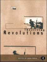 Theorizing Revolutions : New Approaches from Across the Disciplines