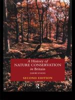 A History of Nature Conservation in Britain : 2nd Edition - David Evans