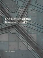 The Nature of the Transnational Firm : Globalisation and Competitiveness