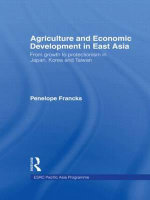 Agriculture and East Asian Development : From Growth to Protectionism in Japan, Korea and Taiwan - Penelope Francks