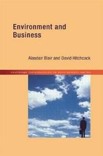 Environment and Business - David Hitchcock