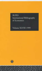 Ibss : Economics: 1999 Vol 48 - British Library of Political and Economic Science