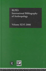 Ibss : Anthropology 2000: v. 46