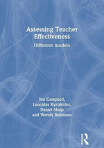 Assessing Teacher Effectiveness : Different Models - Leonidas Kyriakides