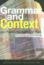 Grammar and Context : An Advanced Resource Book - Ann Hewings