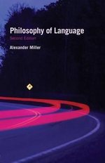 Philosophy of Language - Alex Miller