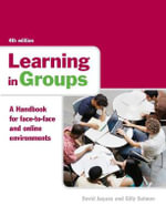 Learning in Groups : A Handbook for Face-to-Face and Online Environments - David Jaques