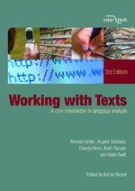 Working with Texts : A Core Introduction to Language Analysis - Ronald Carter