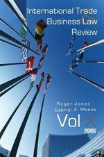 International Trade and Business Law Review : v. 10